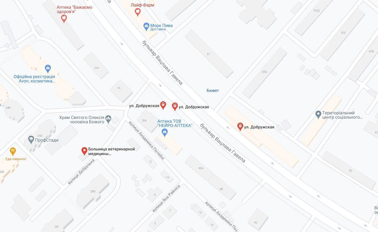 ДТП сталася на бульварі Вацлава Гавела.