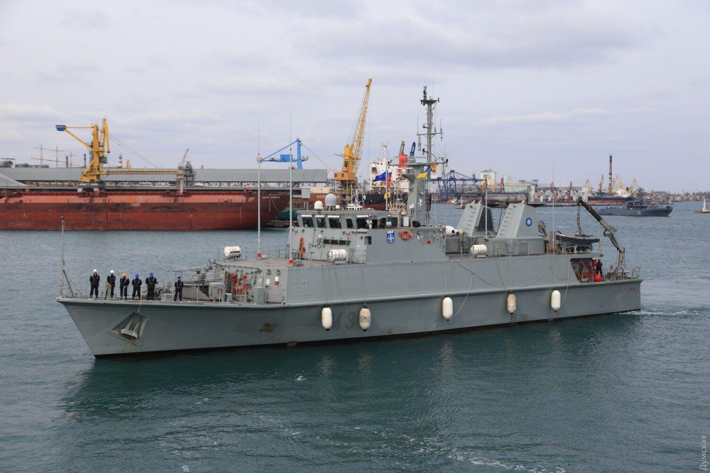В порт Одессы прибыла вторая противоминная группа НАТО SNMCMG2.
