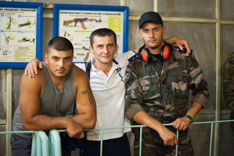 Игорь Запалух (справа).
