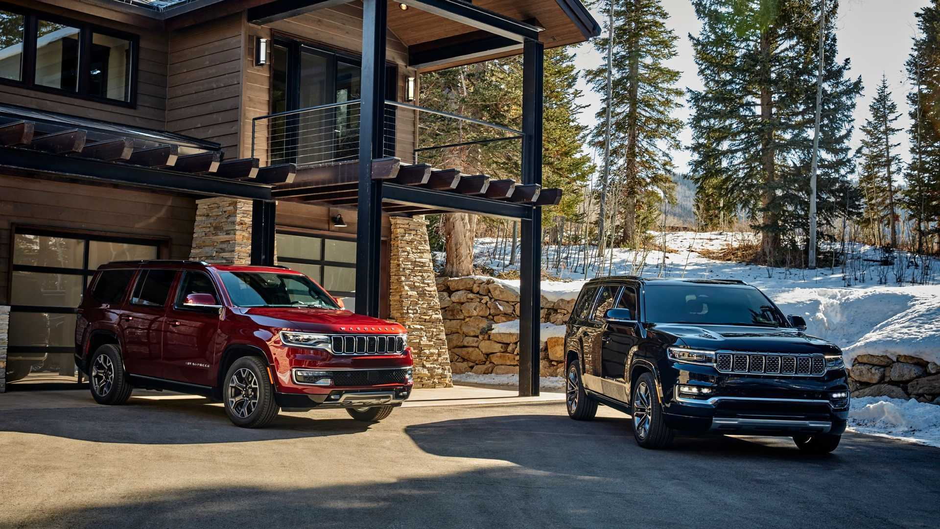 Jeep презентовал флагманские внедорожники Wagoneer и Grand Wagoneer