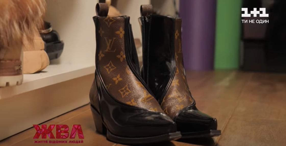 Обувь от Louis Vuitton, которую подарил Каминской новый избранник