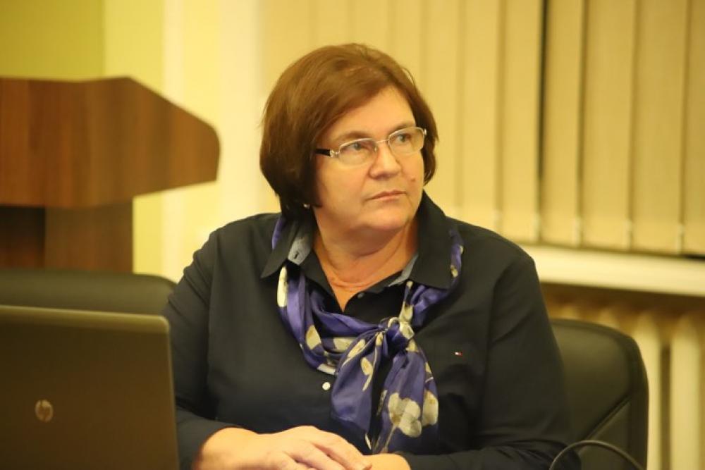 Директор Львовской областной детской клинической больницы ОХМАТДЕТ Александра Бурда вакцинировалась от коронавируса