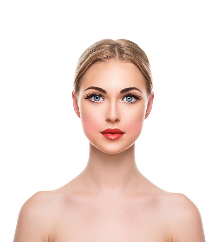 В 1950-х макияж делали с использованием персиковых румян