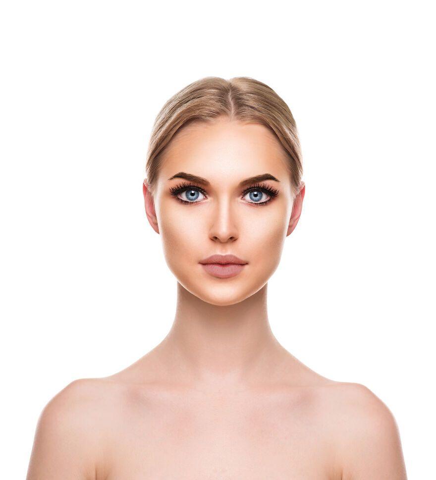 Эффектный и тяжелый макияж с густыми ресницами