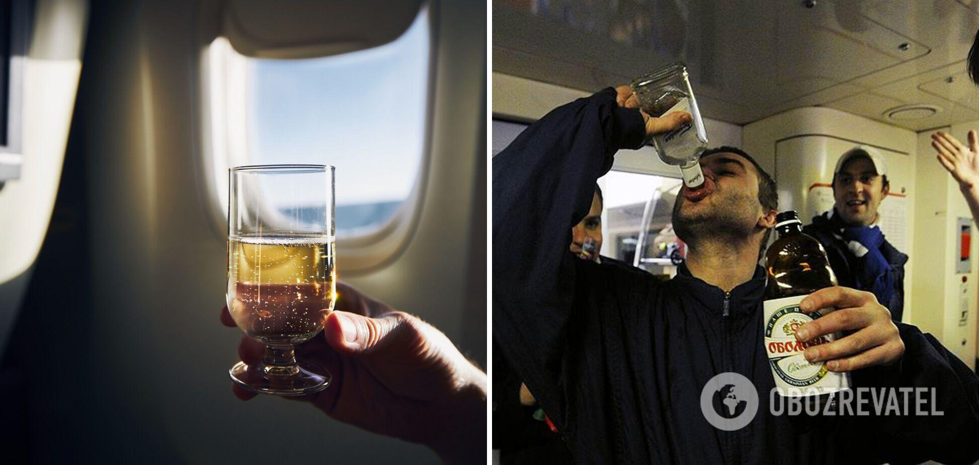 Чрезмерное употребление алкоголя может привести к неприятностям.