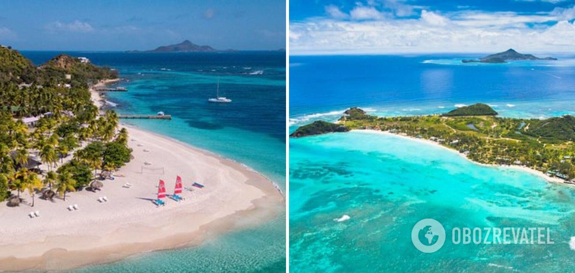 Туристы на острове Палм смогут познакомиться с природными достопримечательностями.