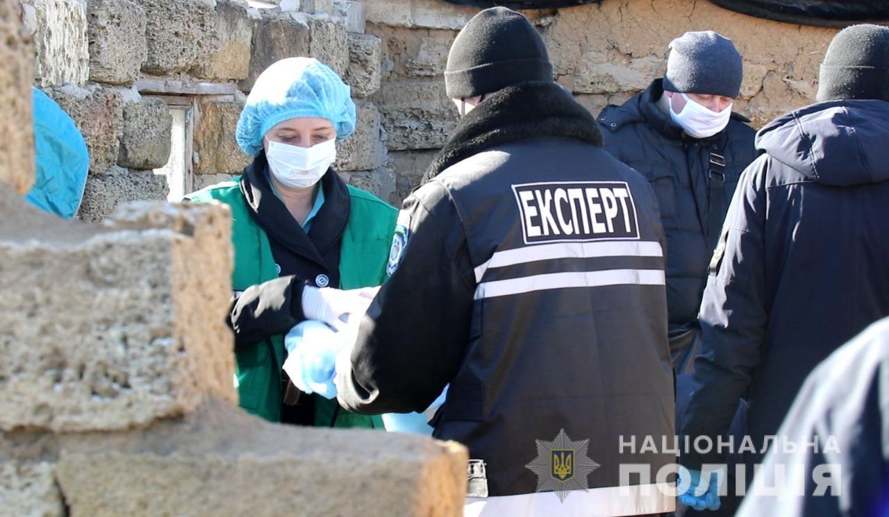 Место обнаружения тела Маши Борисовой.