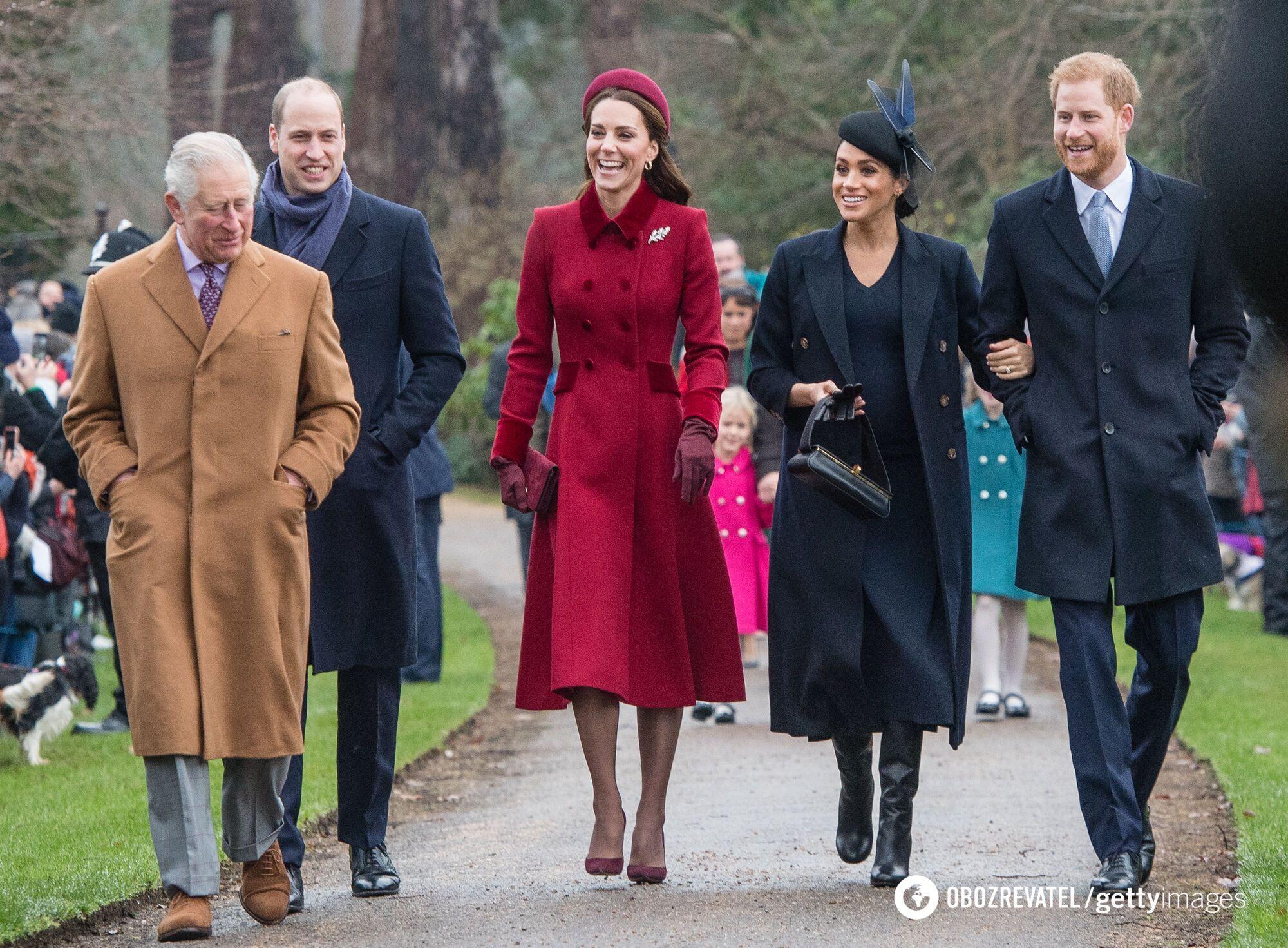 Королівська родина на одному з публічних заходів