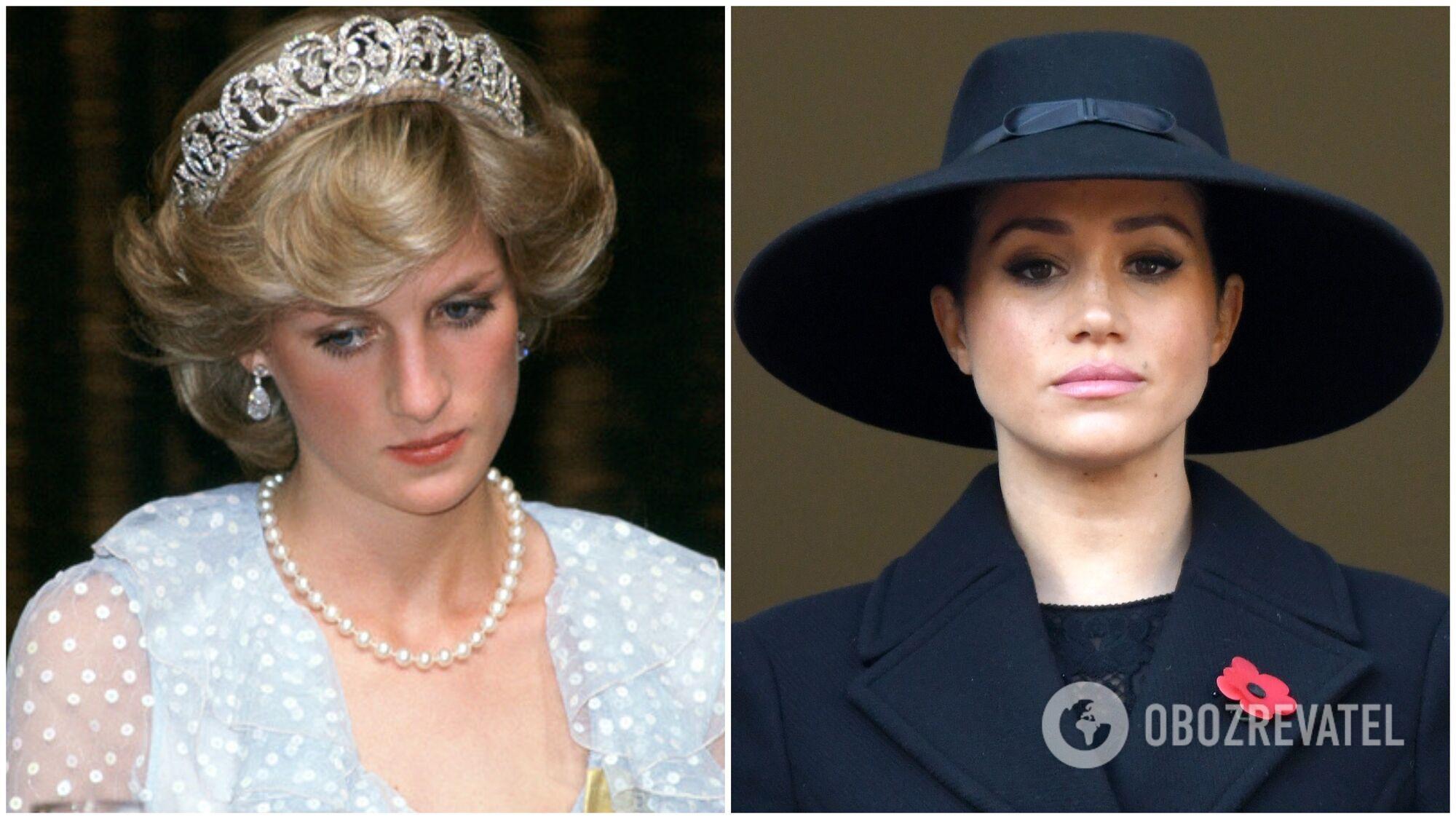 Принцеса Діана дружила з прислугою, а ось Меган Маркл, навпаки, поводилася кепсько з  персоналом обслуги