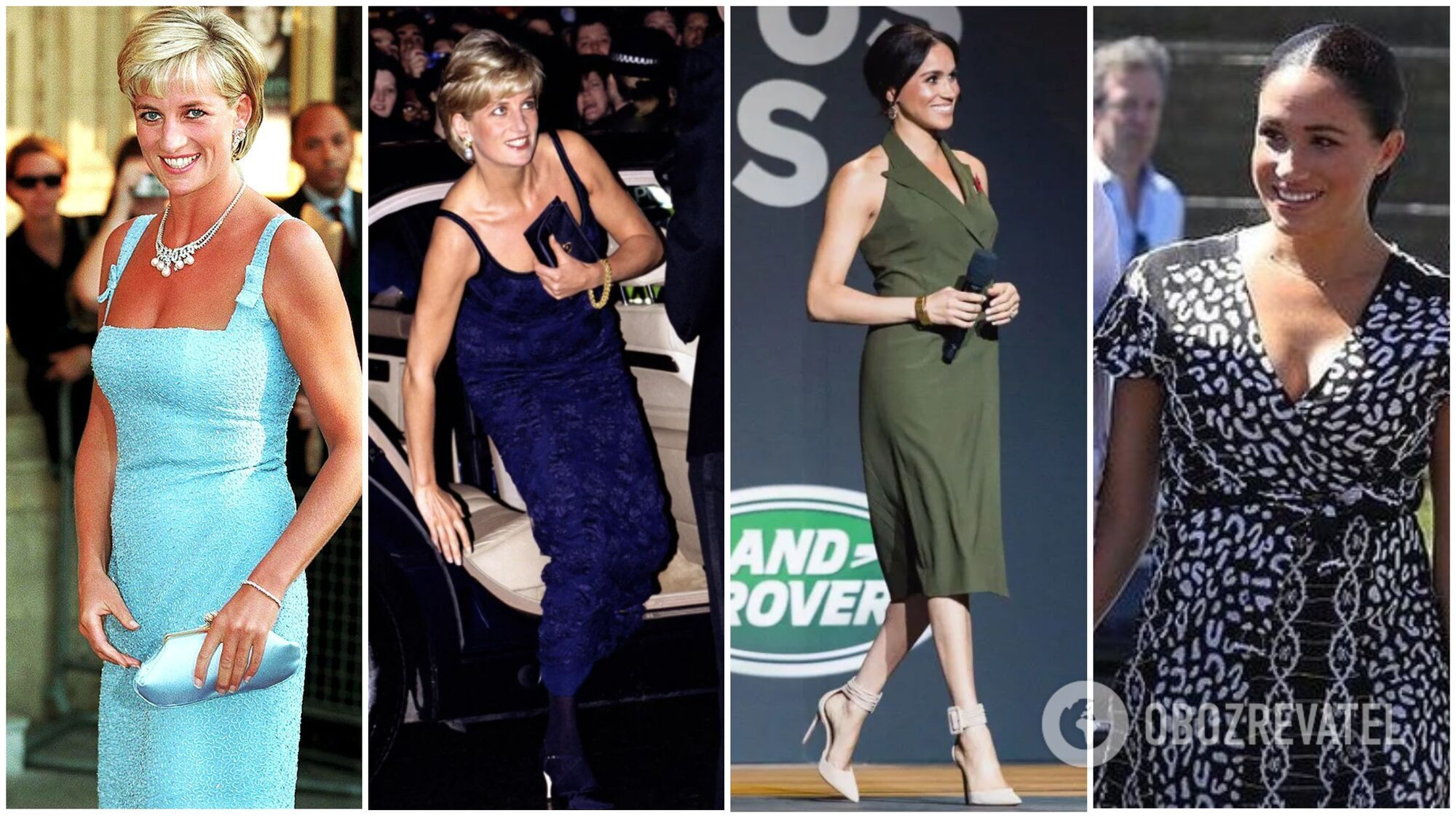 Леди Ди и Меган Маркл не раз нарушали королевский дресс-код