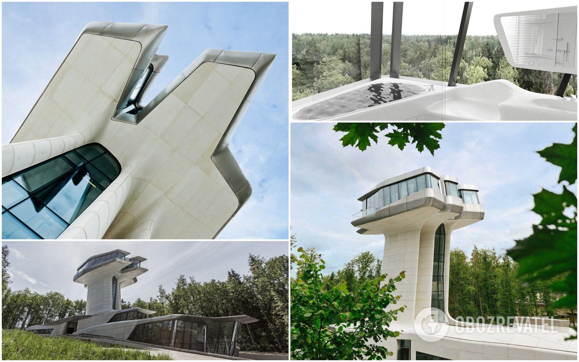 Capital Hill Residence является единственным в мире частным домом по проекту Захи Хадид