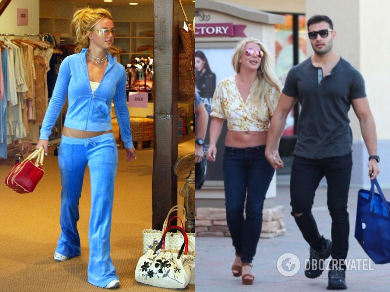 Брітні Спірс досі не відмовилася від штанів із заниженою талією, які були популярні за часів її юності