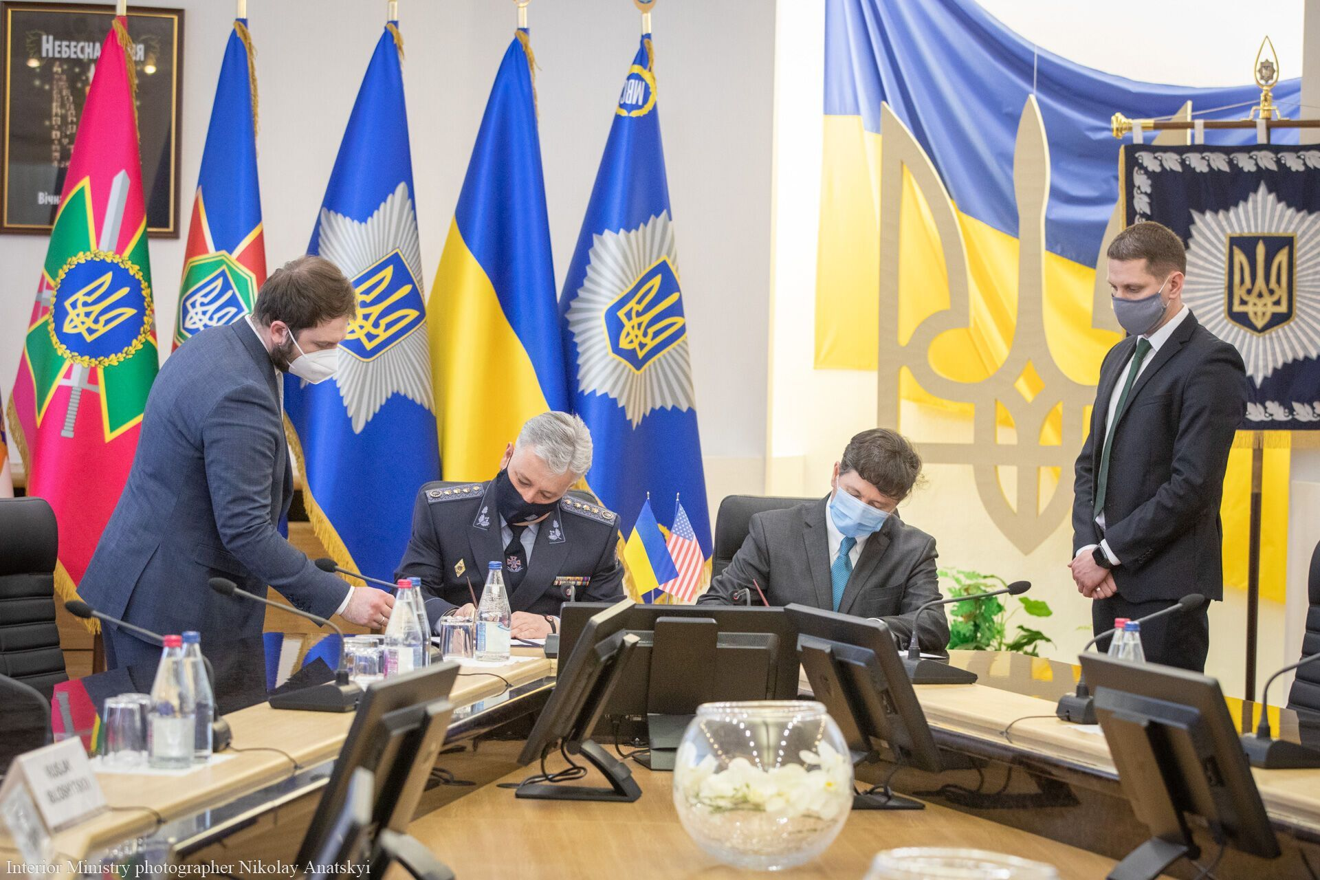В МВД состоялось подписание Протокола о намерениях