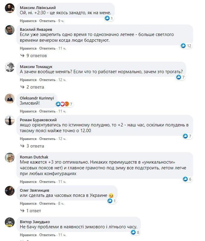 Реакція мережі на те, в якому часовому поясі залишатися Україні.