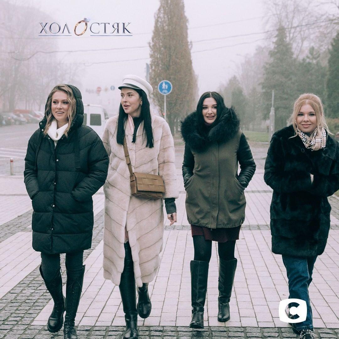 Участницы шоу Алиса, Настя, Лена и Валентина