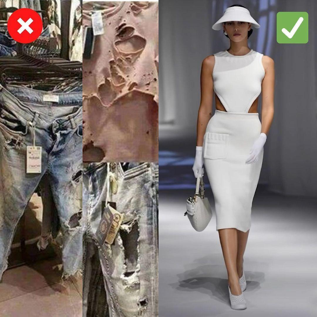 Вырезы на одежде в тренде