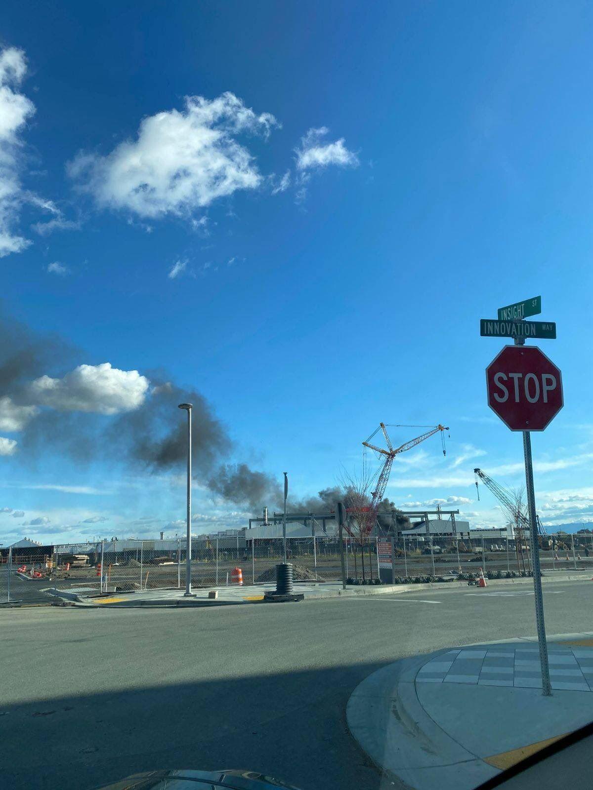 Пожежа на заводі Ілона Маска.