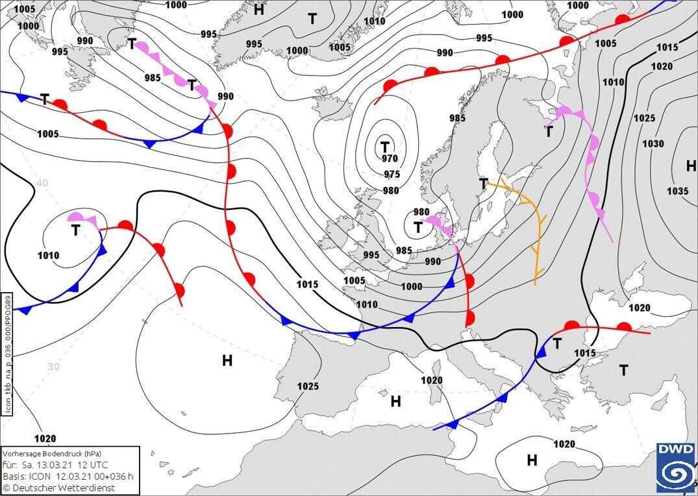 Карта погоды в Украине на выходных