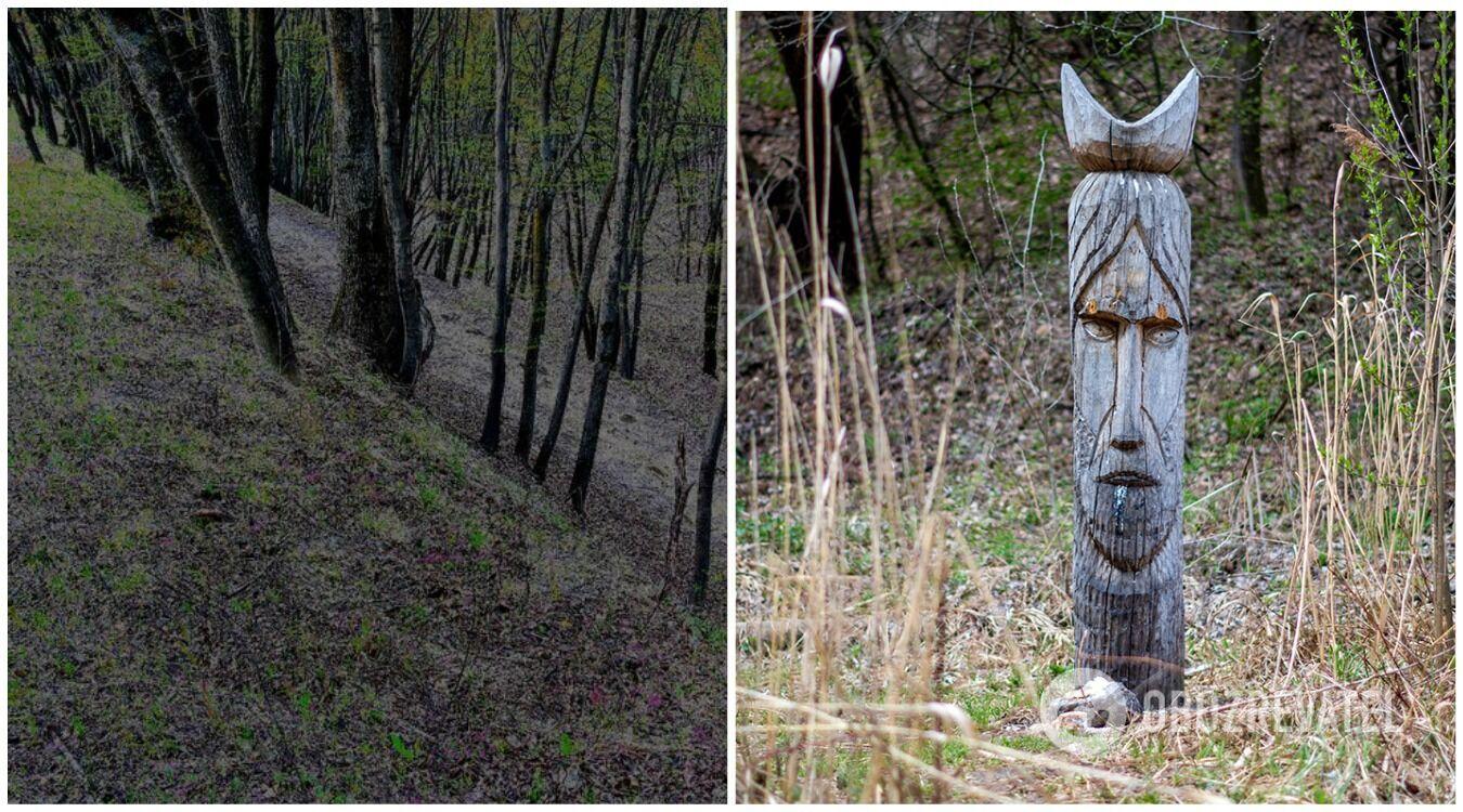 Тисячі років тому на Лисій горі був язичницький жертовник та капище