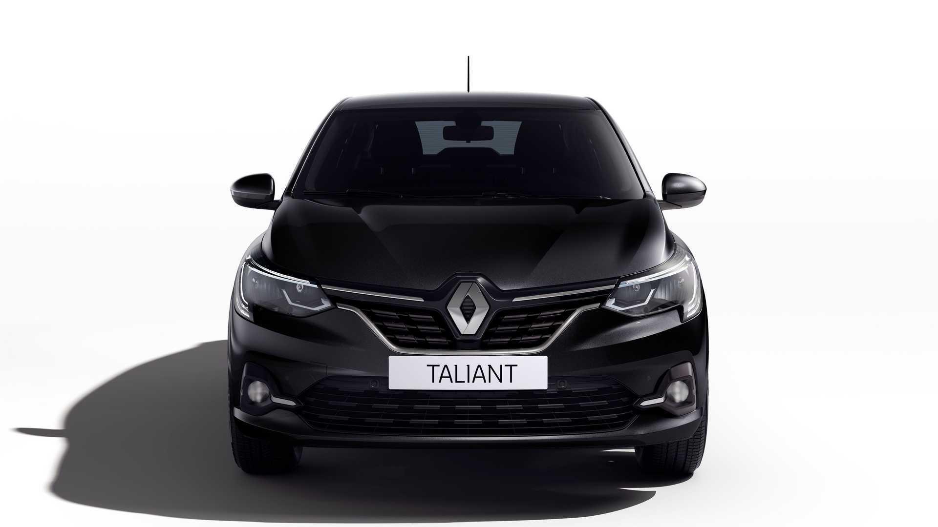 Renault Taliant сменит на конвейере седан Symbol