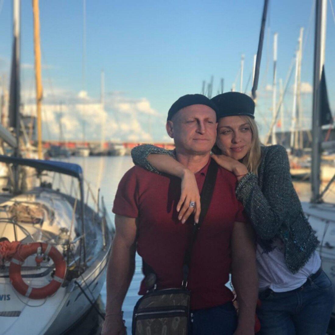 Супруг Оли Поляковой помог ей измениться и научил всему радоваться.