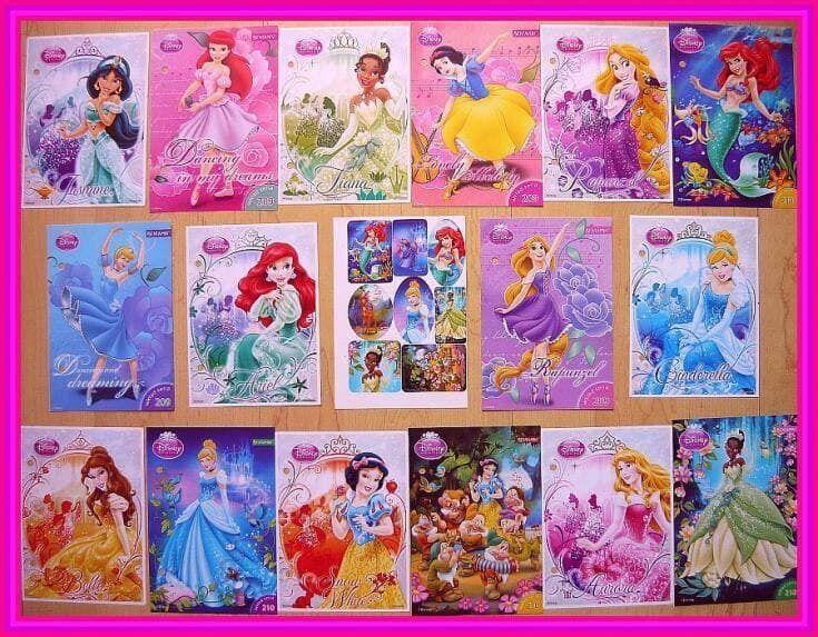 Открытки коллекционировали в основном девочки.