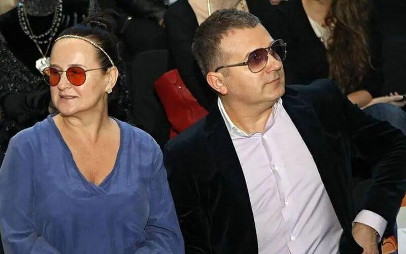 Юрий Горбунов с женой Людмилой .