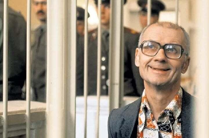 Андрей Чикатило, на совести которого - не менее 43 жертв.