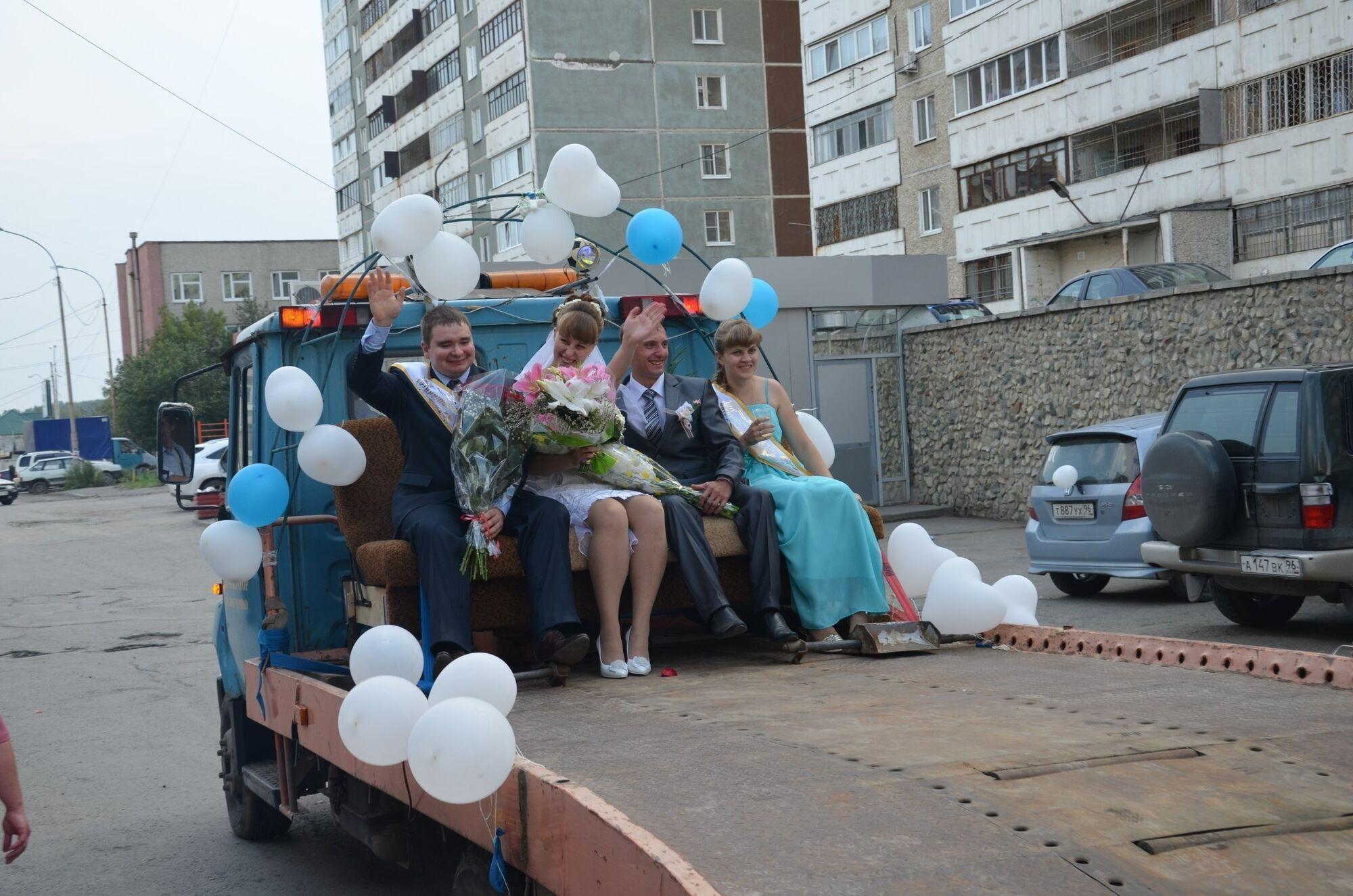 Весільне пекло в країнах колишнього СРСР