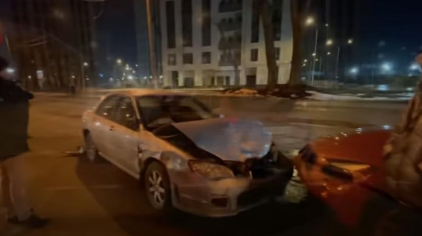 Нетверезий водій у Києві влаштував подвійну ДТП