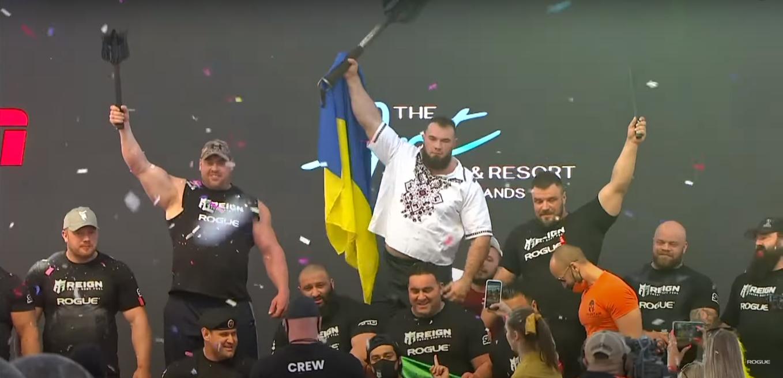 Алексей Новиков защитил титул самого сильного человека планеты.