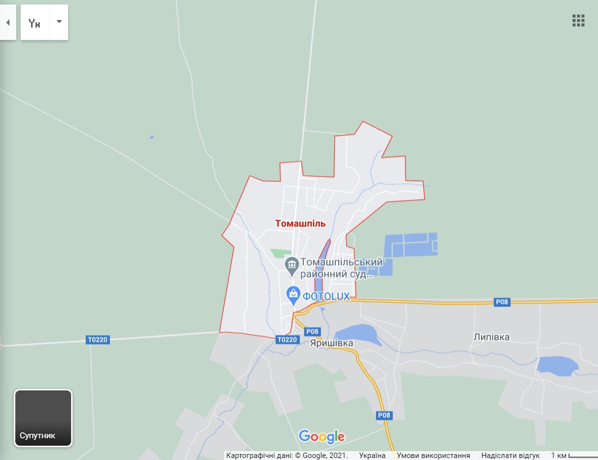 Томашпіль, де влаштували стрілянину на дні народження