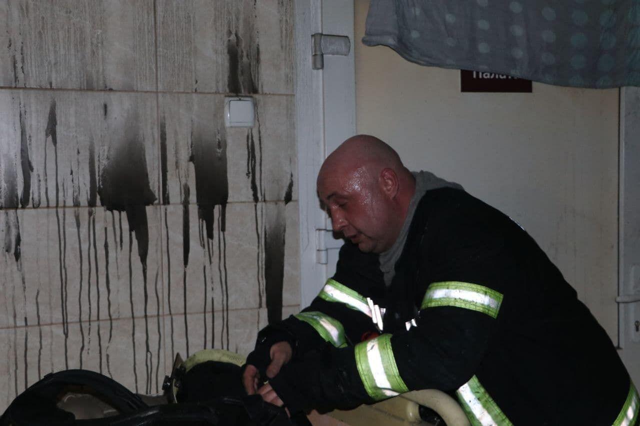 Рятувальники знаходилися поруч з пацієнтами.