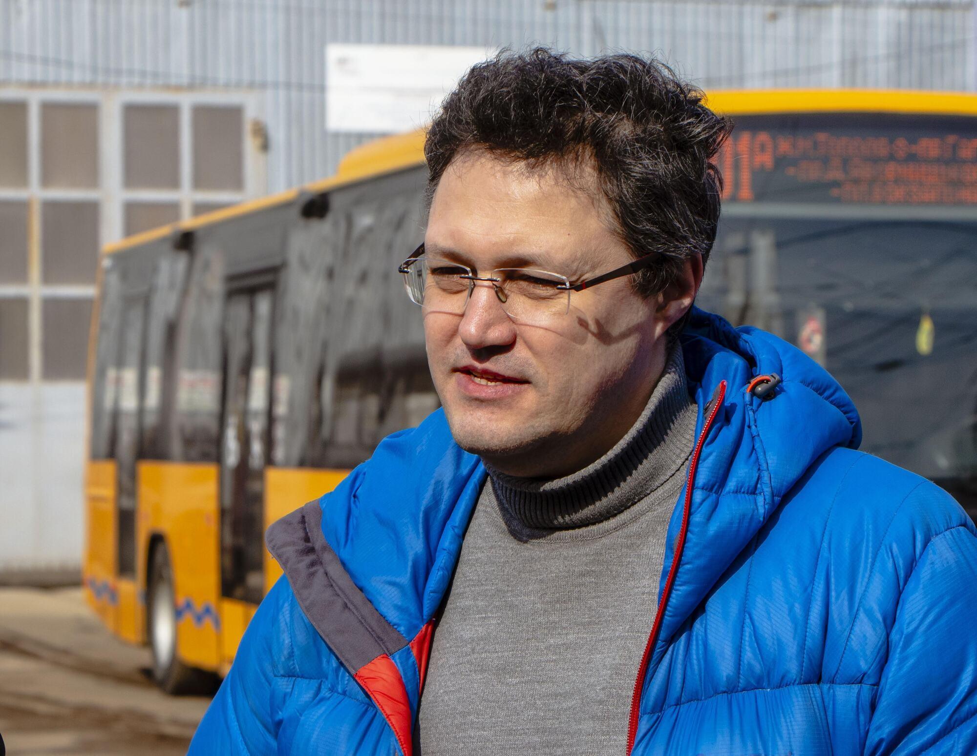 Брендування громадського транспорту має низку переваг, зазначив Білопольський