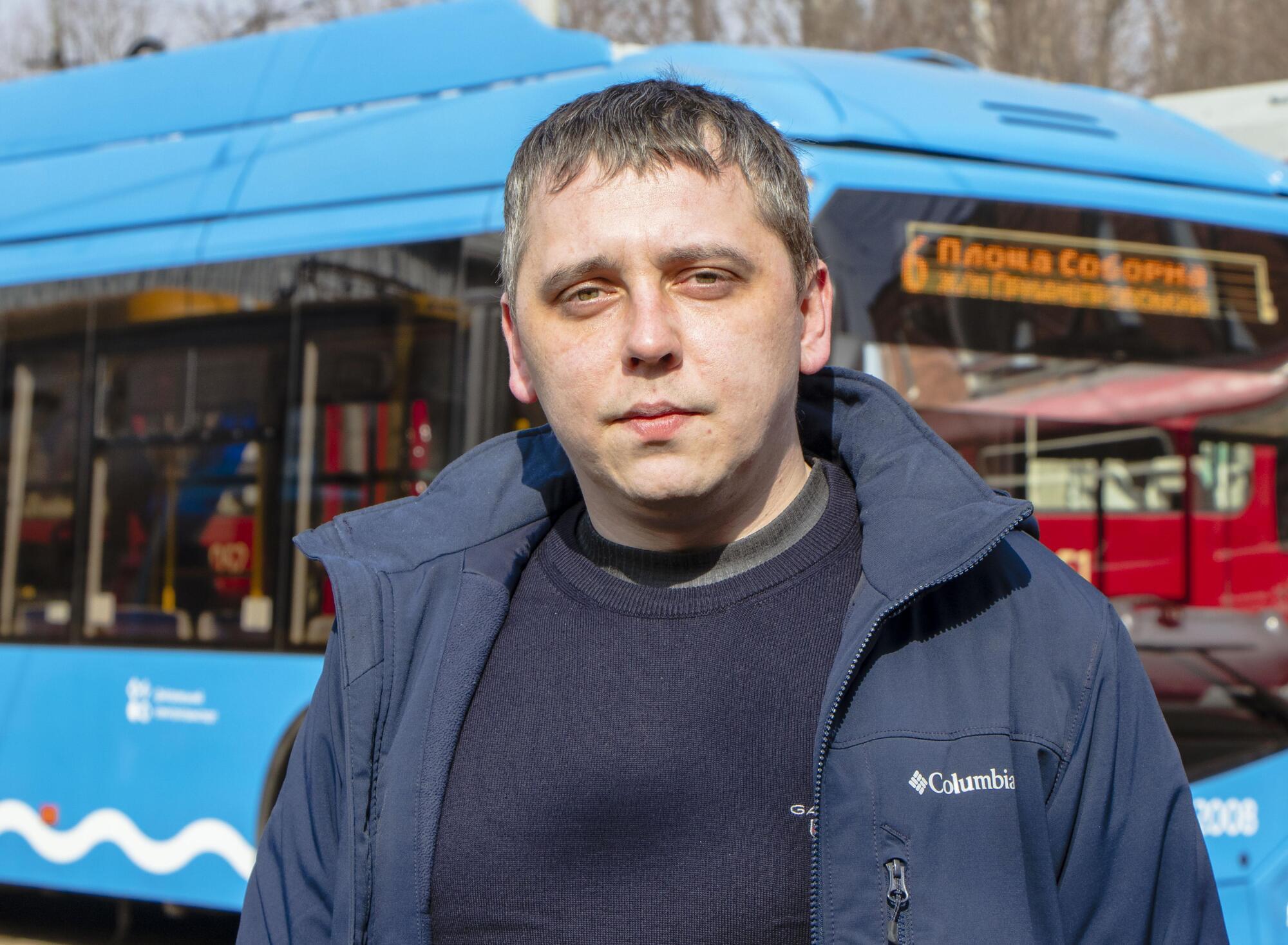 Ще одним кроком у процесі брендування стане заміна автобусних трафаретів розповів Васючков