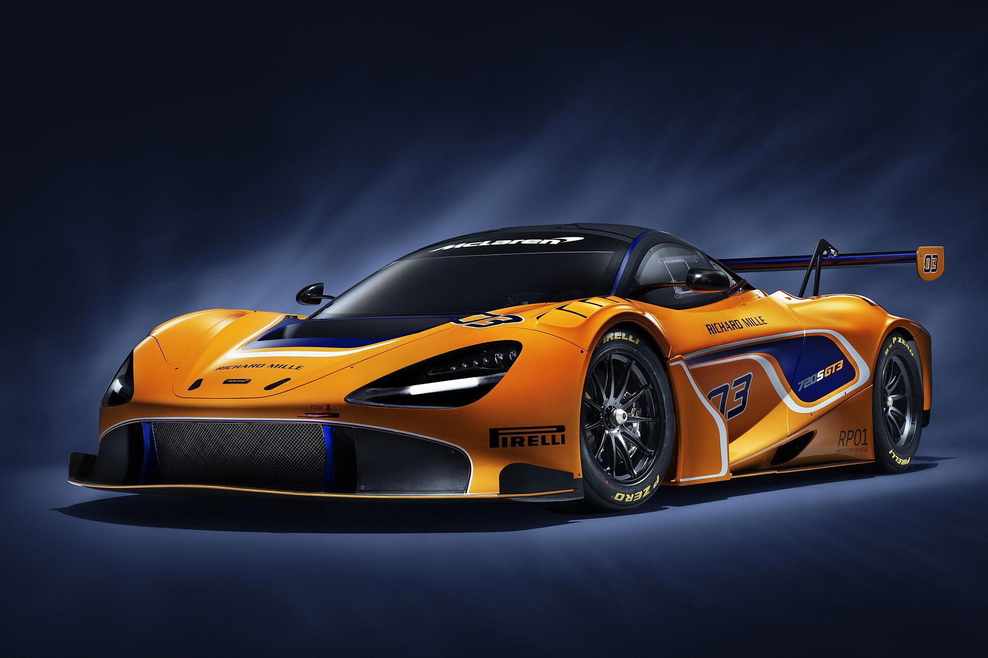 Фахівці компанії взяли за основу для свого проєкту модель 720S GT3