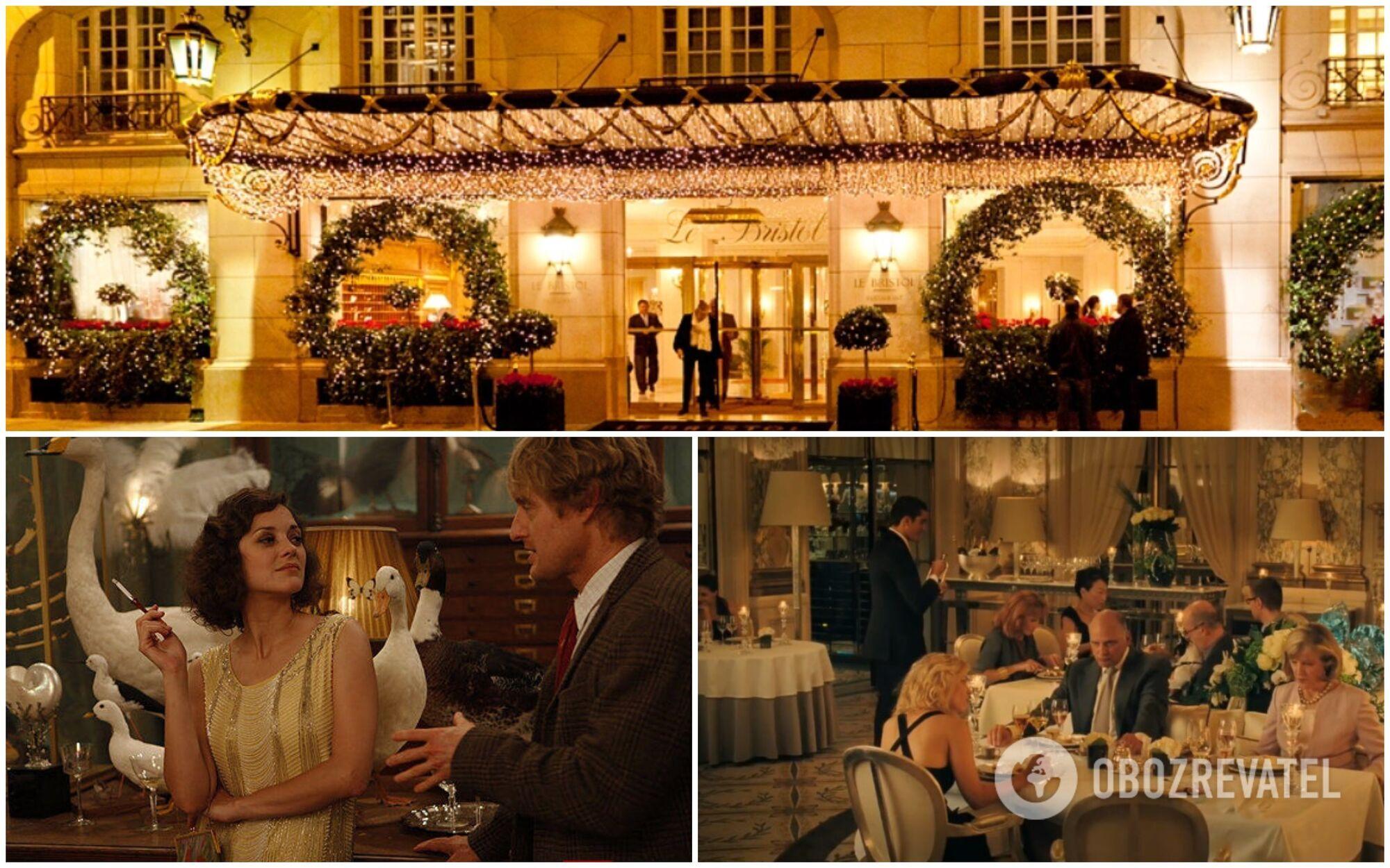 """Le Bristol знявся у фільмі """"Опівночі в Парижі"""" Вуді Аллена"""