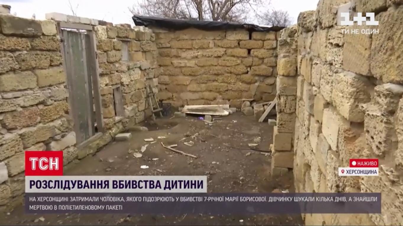 Сарай, де знайшли тіло Марії Борисової