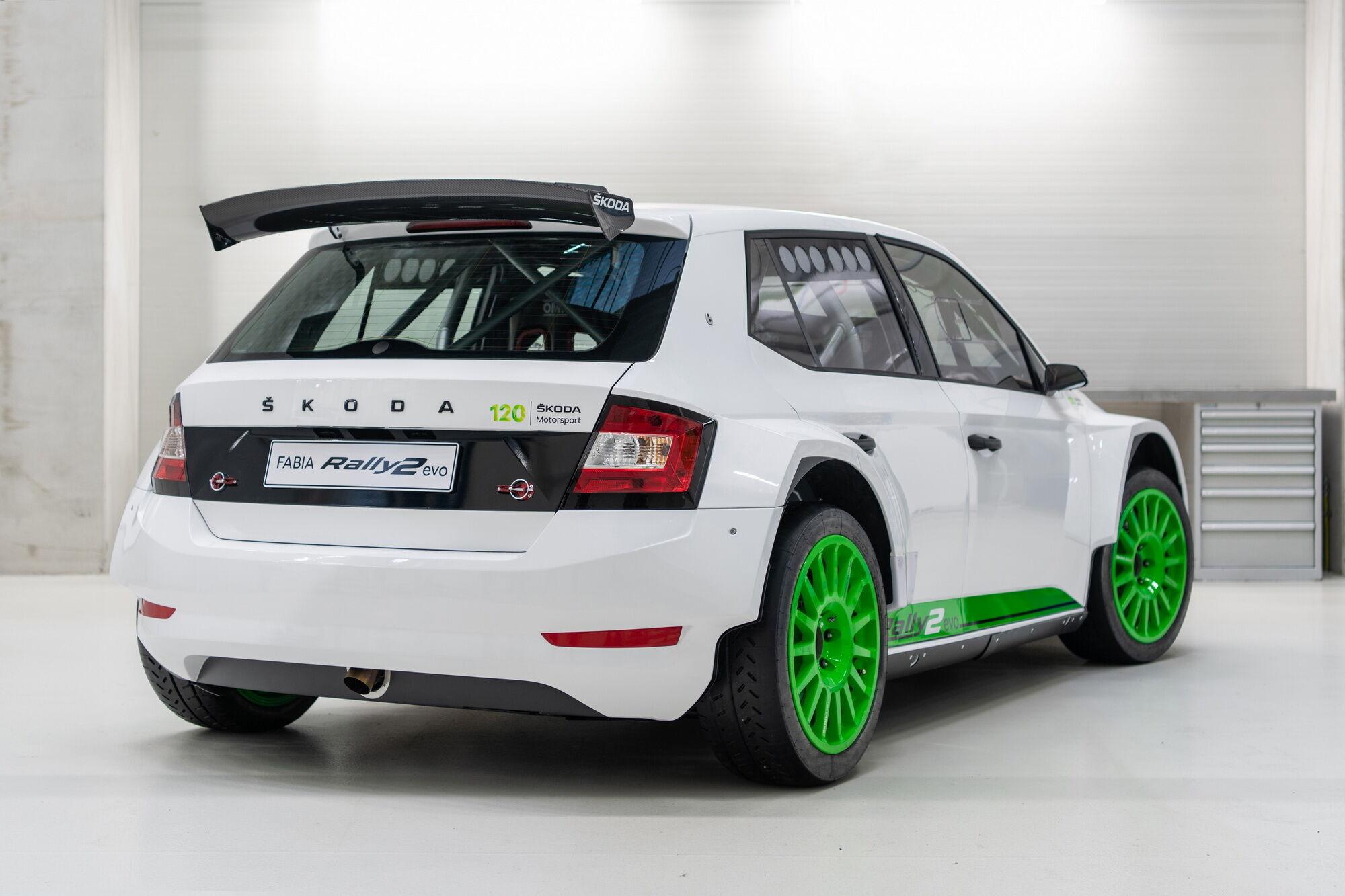 Подразделение Skoda Motorsport изготовит всего 12 экземпляров модели Fabia Rally2 Evo Edition 120 Rally Car