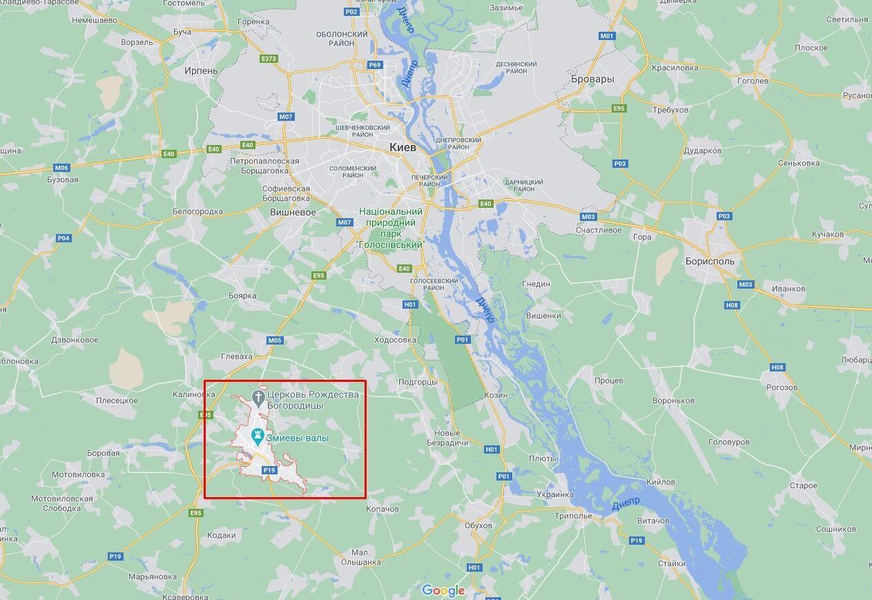 Нападение произошло в Василькове.