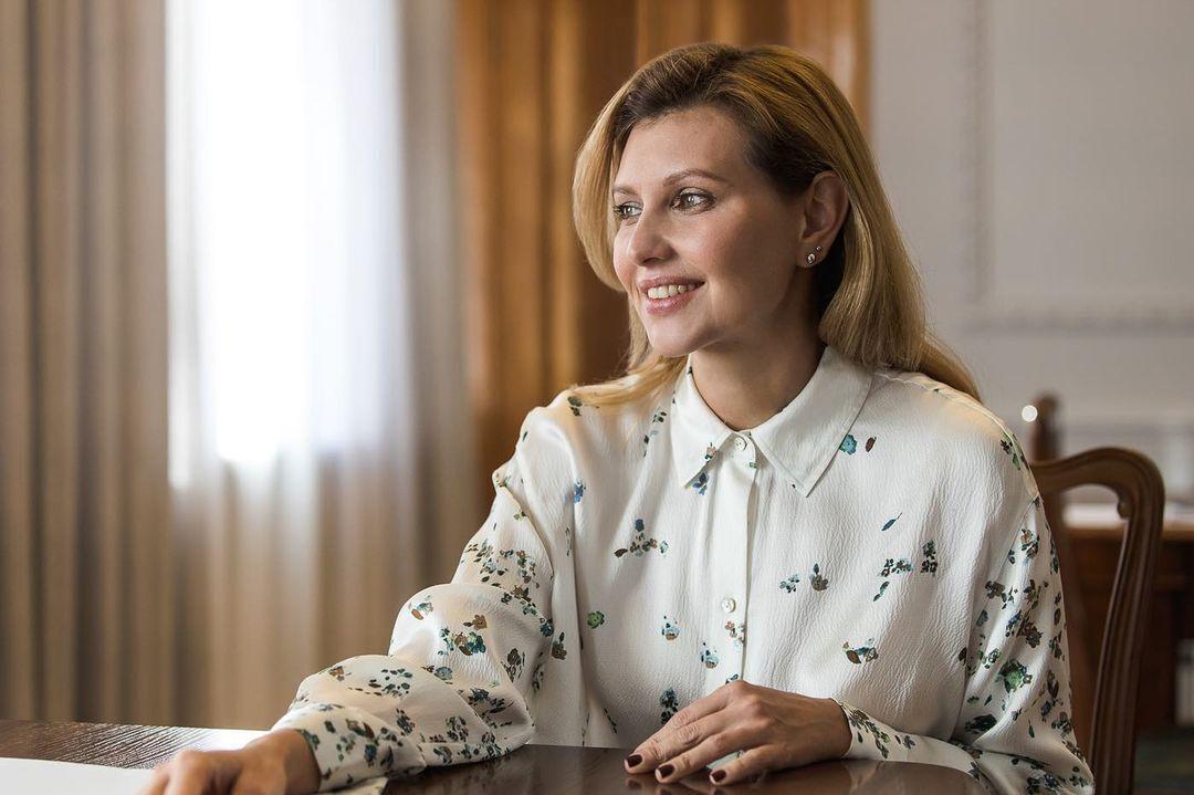 Как выглядит лицо Елены Зеленской