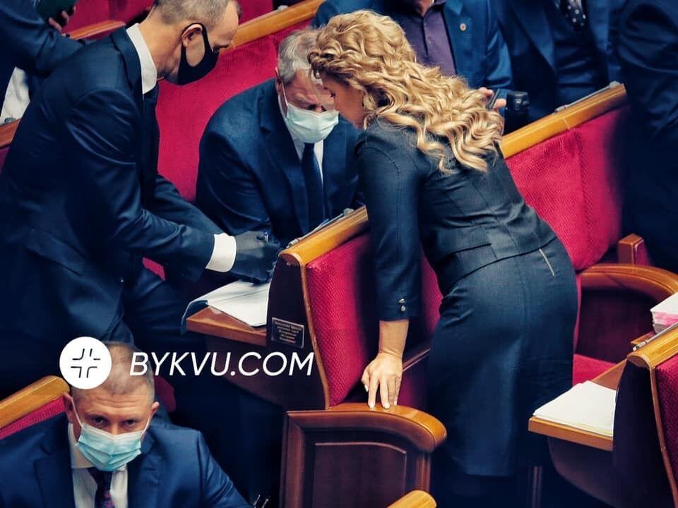 Юлія Тимошенко постала у Верховній Раді у стильному образі