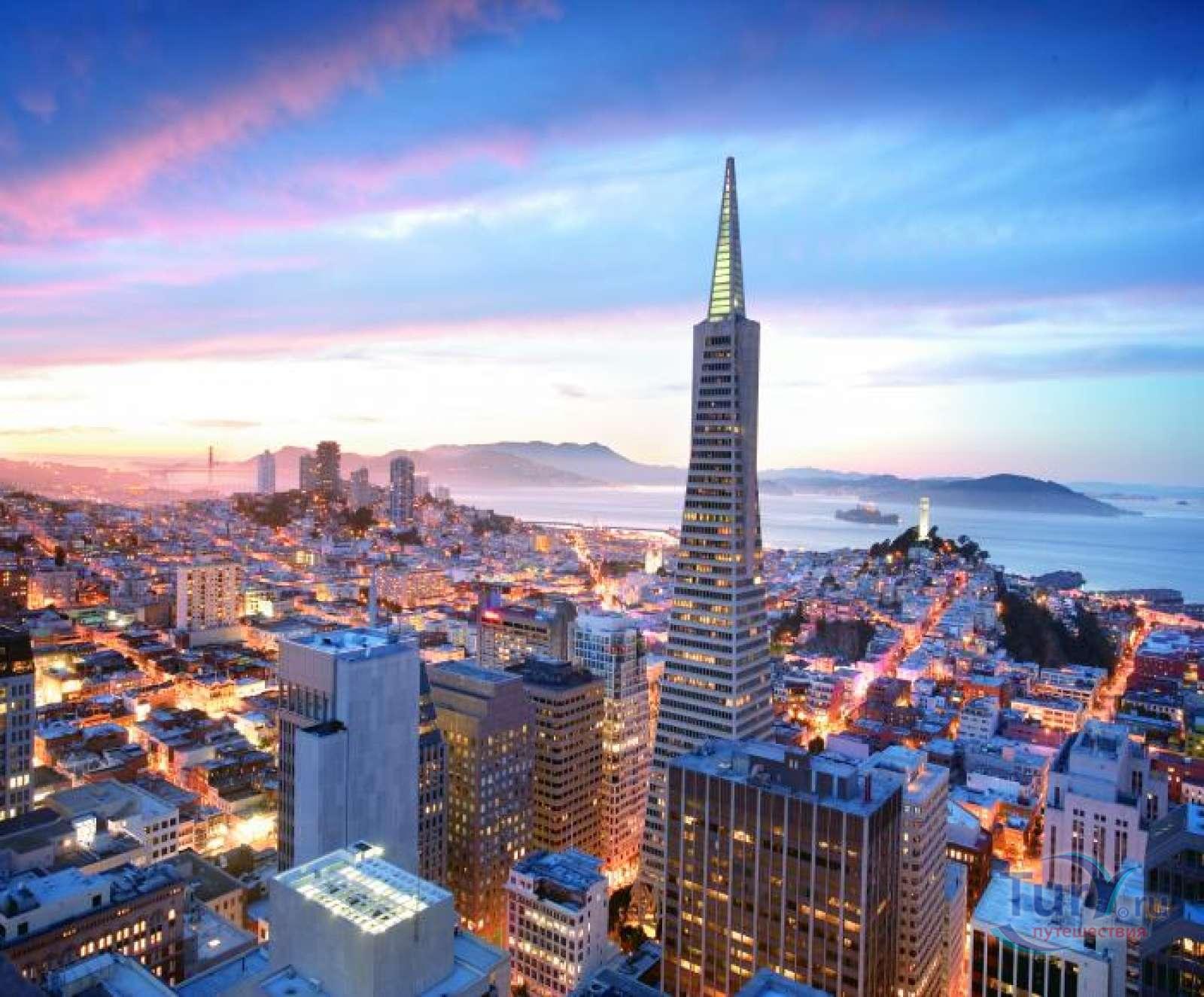 Отель Mandarin Oriental расположен в Сан-Франциско, США.