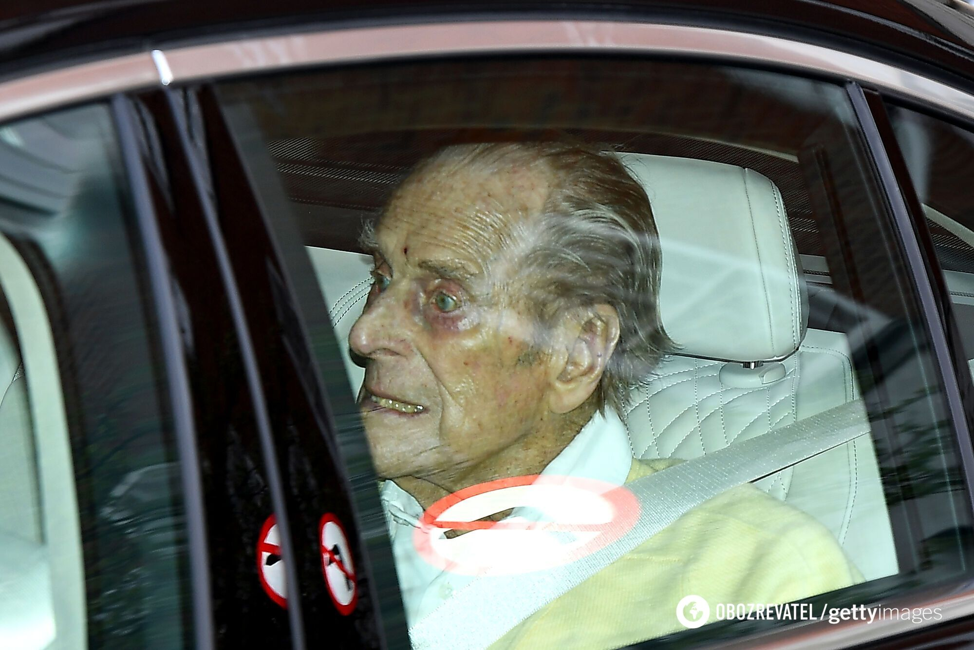 Принц Филипп после операции