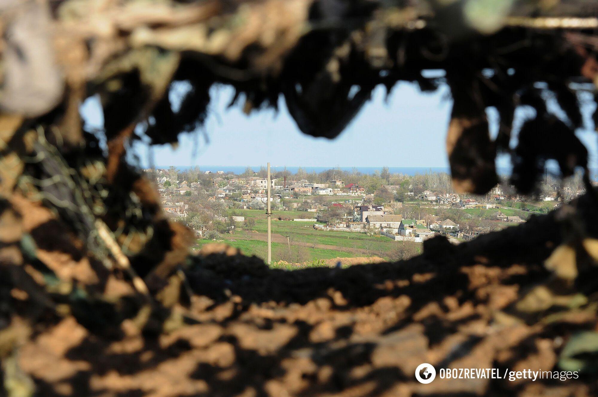 На Донбассе начнется минно-позиционная война.