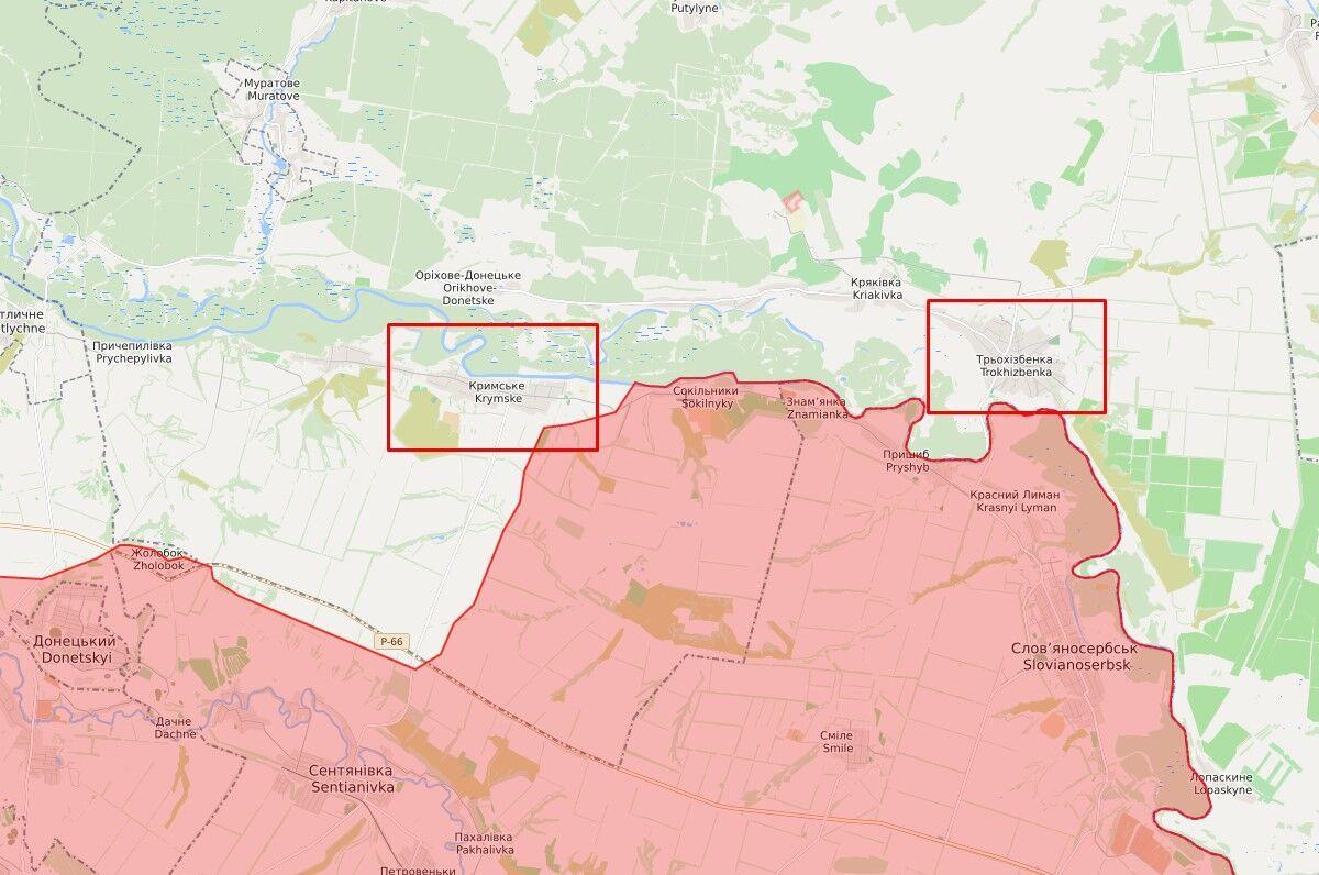 Російське озброєння знайшли в Кримському і Трьохізбенці.