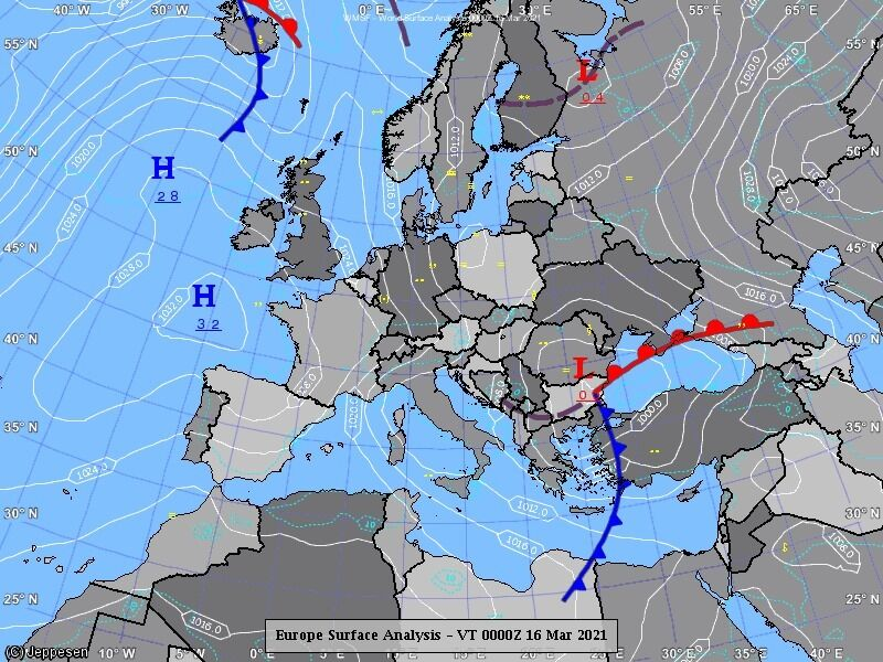 В Україну прийде південний циклон з дощами