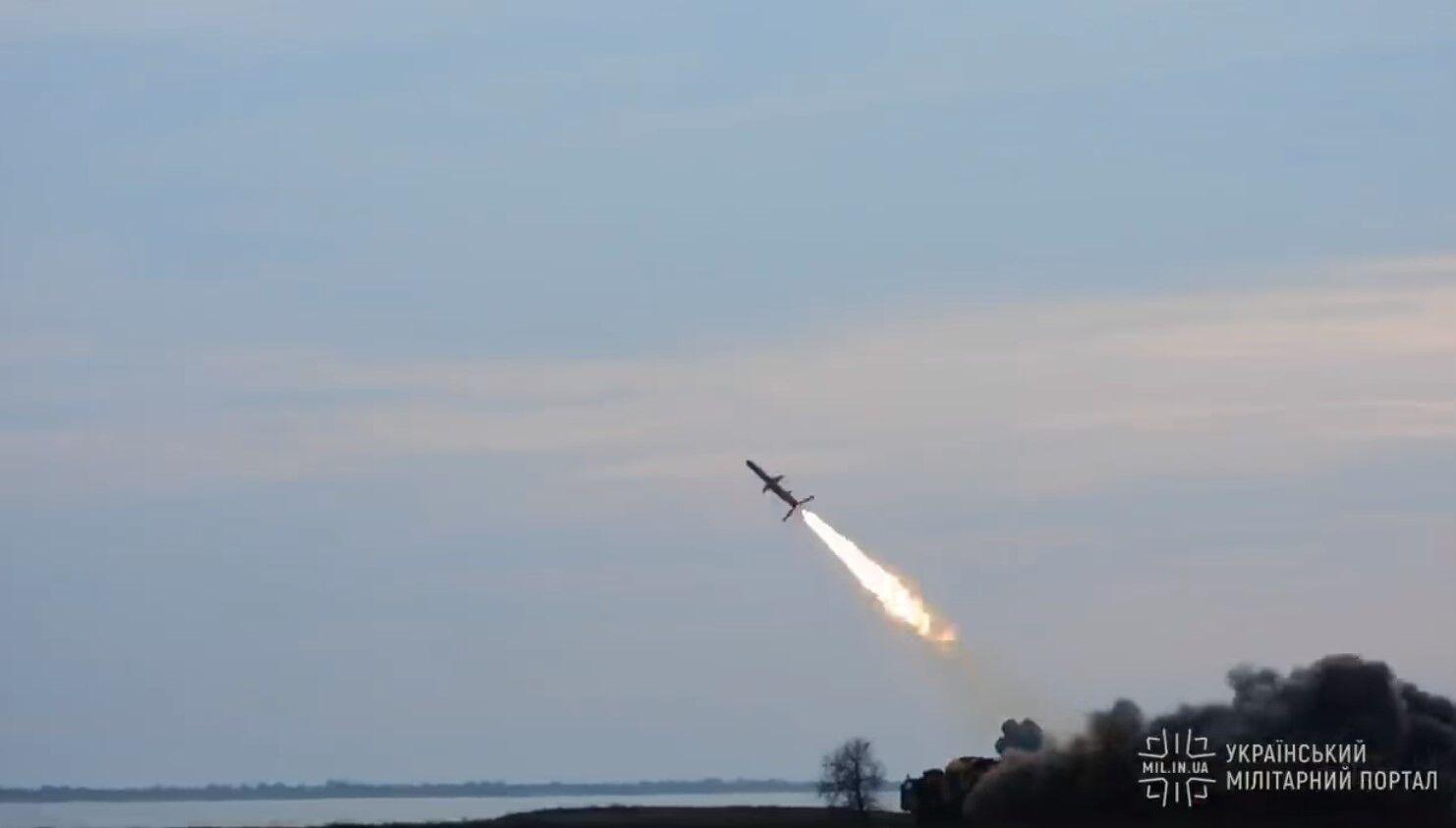 "Запуск ракеты ""Нептун""."