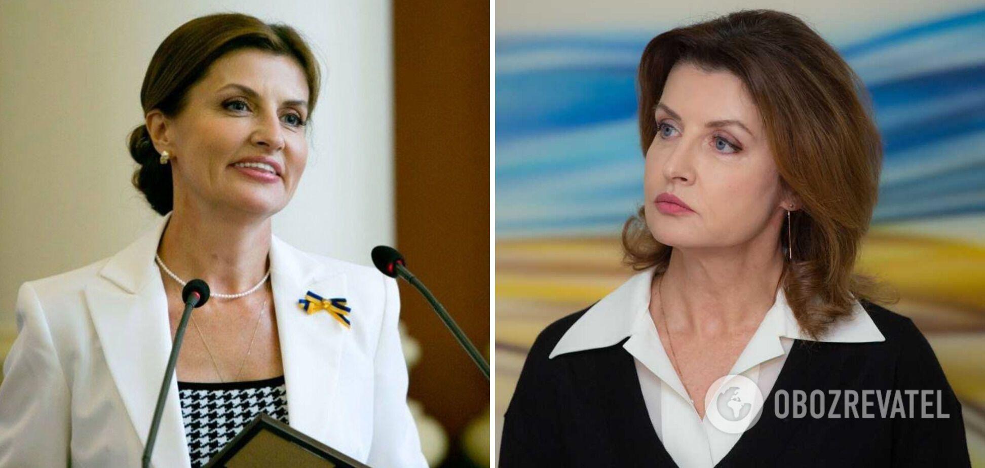 Как выглядит лицо Марины Порошенко