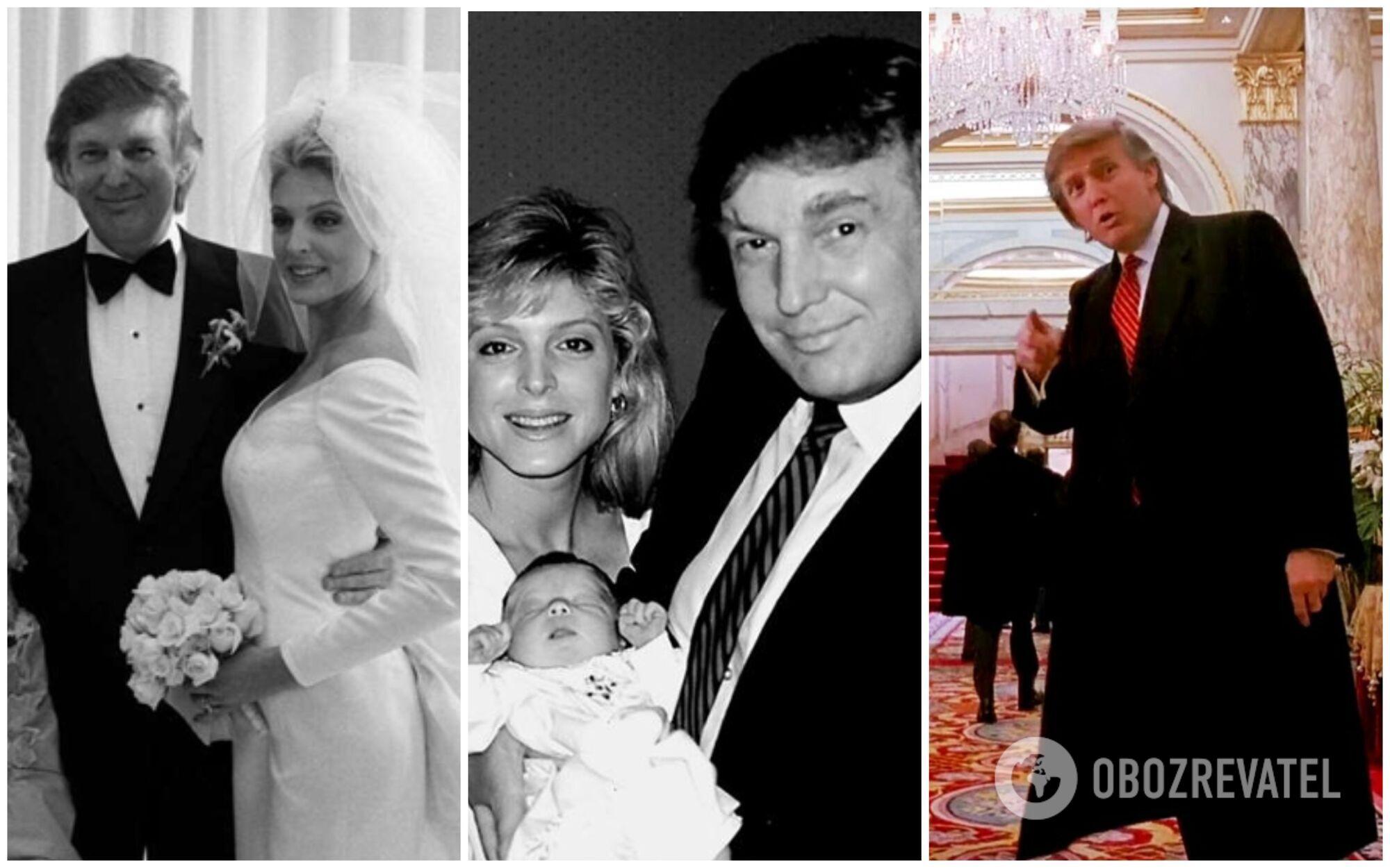 90-і для Трампа виявилися складним періодом: розрив із першою дружиною Іваною, одруження з Марлою і банкрутство відразу чотирьох компаній